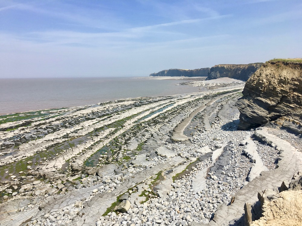 Rocks at Kilve beach