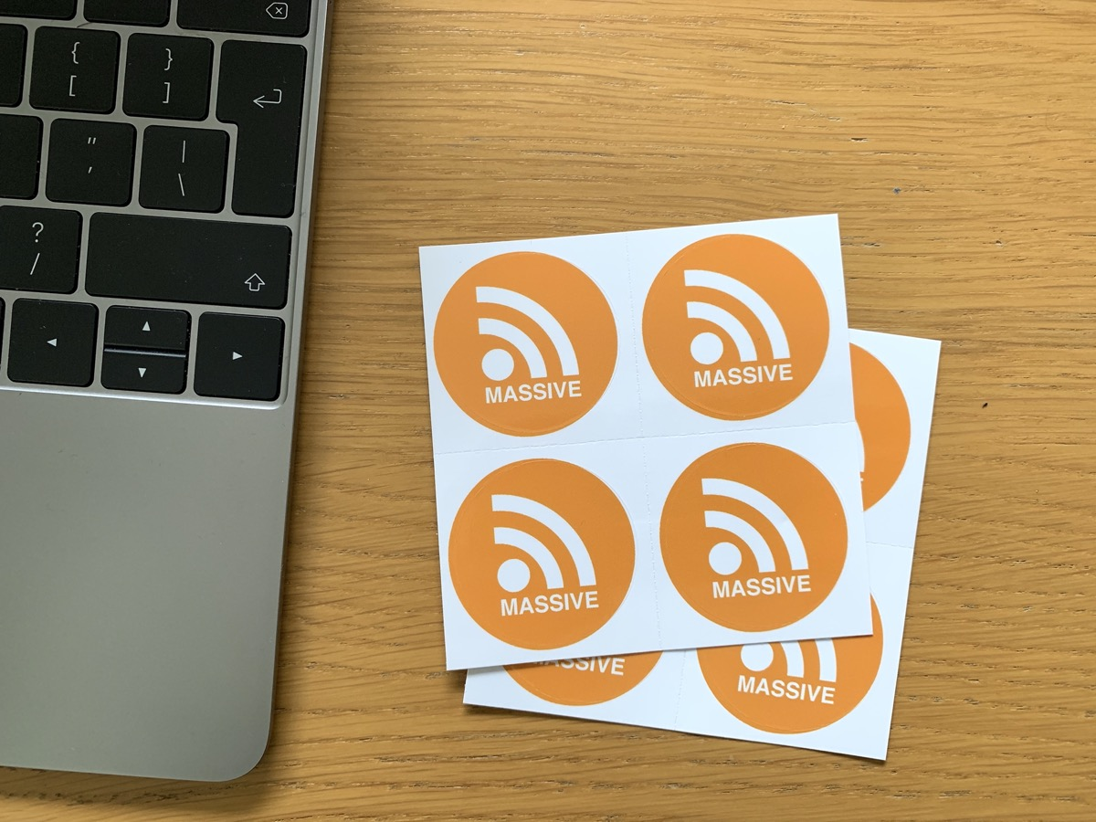 RSS stickers